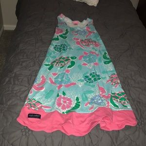 Simple Southern Sea Turtle Dress Size XS/S